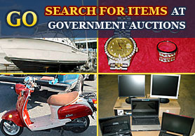 Click Here to Search for Government Auction Items by Keyword