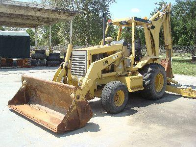 Caterpillar 446 Turbo Backhoe