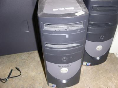 Five Dell GX-240 Desktops