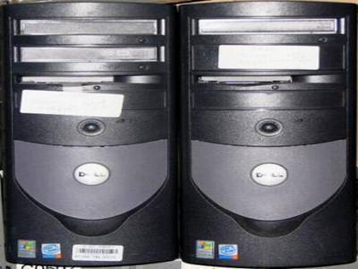 Two Dell GX280 Desktop Computers