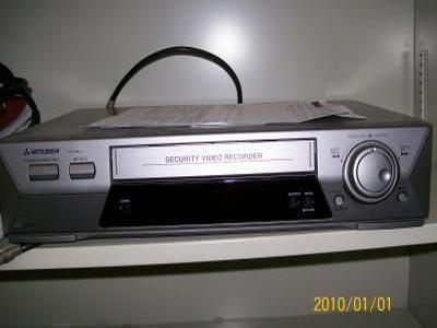 Mitsubishi HS 1280U Time-Lapse Security VCR