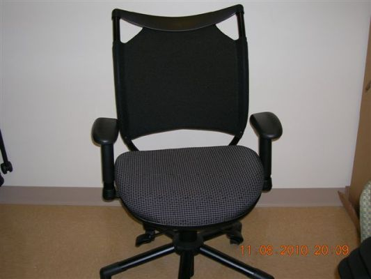 four desk chairs