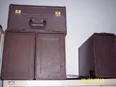 four briefcases