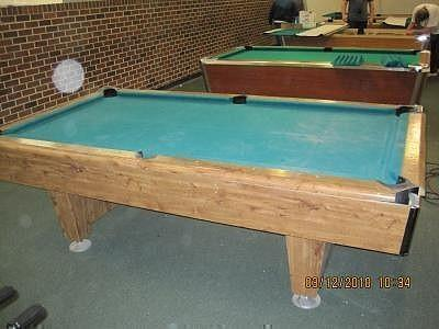 Pool Table A Felt Table Never Felt So Good Government Auctions Blog - Masse pool table