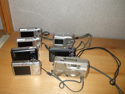 seven cameras