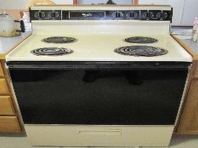 whirlpool stove