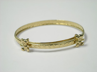 teddy bear bangle