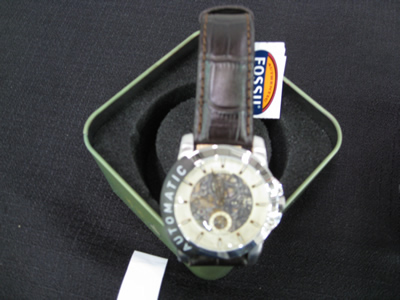 fossil leather