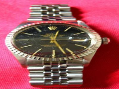 rolex stainless