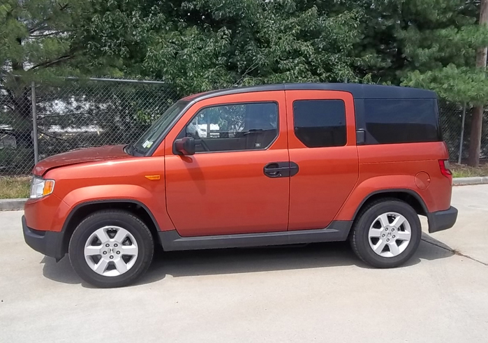 orange honda element government auctions blog