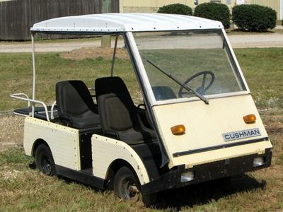 cushman carts | Government Auctions Blog