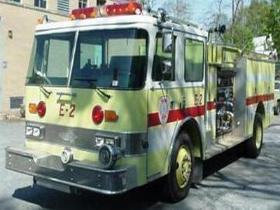 1988 Pierce Arrow Fire Fighting Truck
