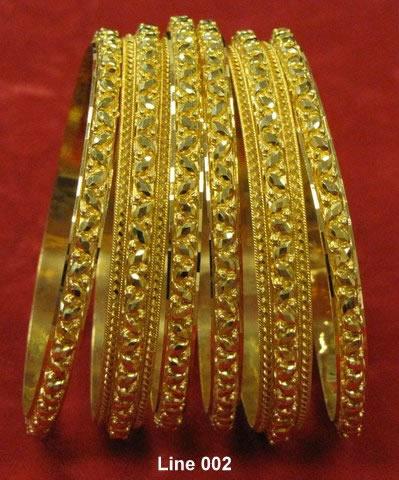 6 Bangle Bracelets