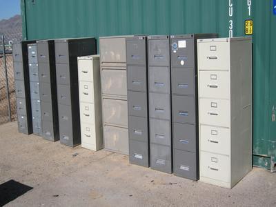 10 File Cabinets