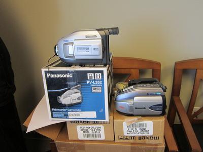 2 Panasonic Camcorders