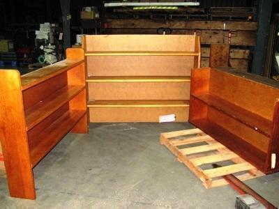 4 Bookcases