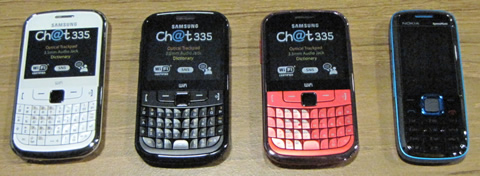 6 Blackberry Phones