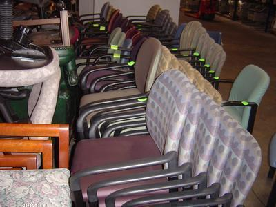 65 Stackable Chairs