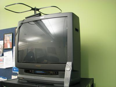 Panasonic TV with VCR