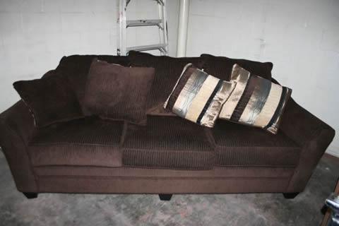 Godiva Sofa Chocolate Colored Too Government Auctions