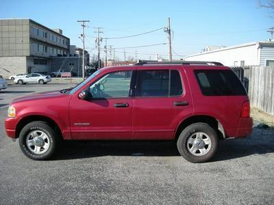 2004 Red Ford Explorer