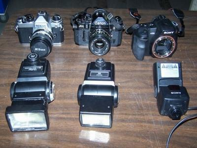 3 Digital Cameras