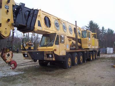 Mounted Crane Truck