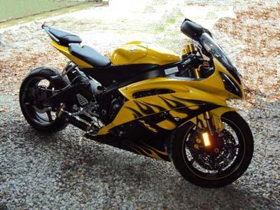 Yamaha YZF Bike