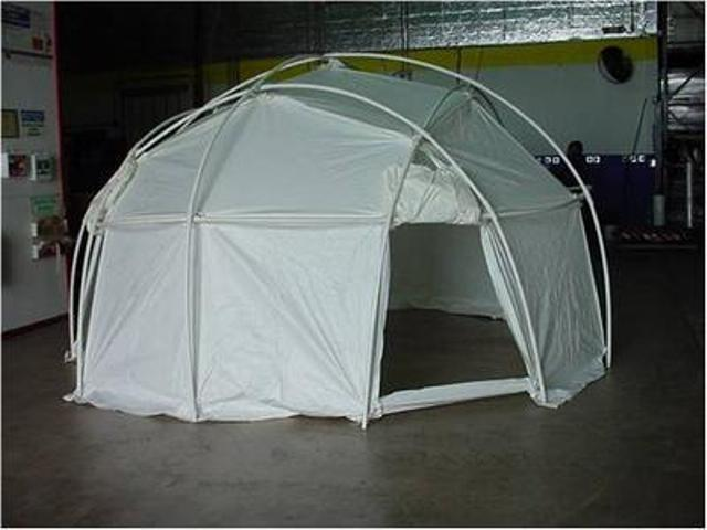18 Foot Yurt Domed Tent Live Like A King! & 18 Foot Yurt Domed Tent: Live Like A King! | Government Auctions Blog