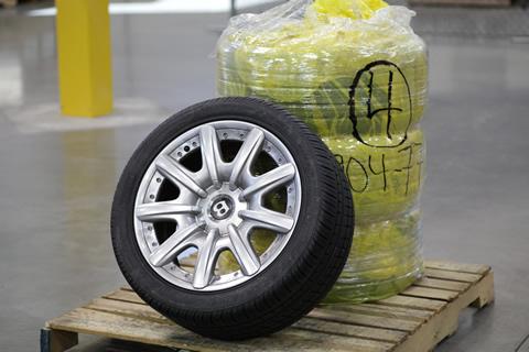 Bentley GT Wheels and Tires