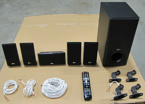 LG Speaker system with subwoofer
