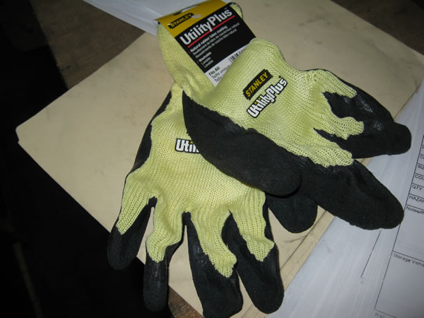 Stanley Work Gloves