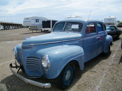 1940 Plymouth Sedan