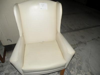 Vinyl High Back Chair
