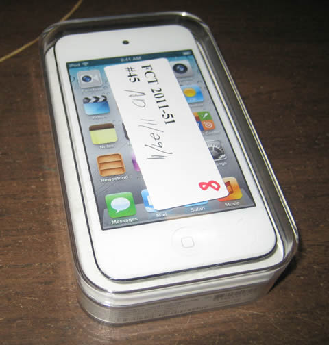 white itouch
