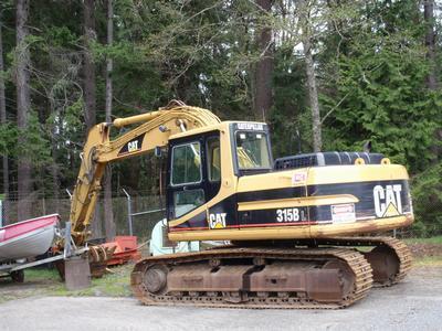 Cat Escavator