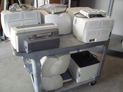 eight printers