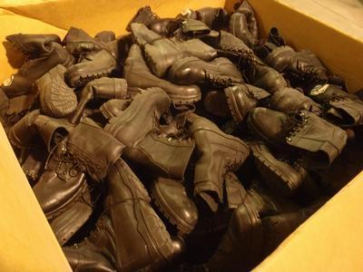 50 pairs combat boots