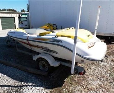 2002 Sea Doo LE Sportster boat