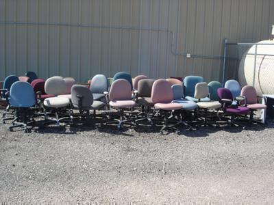 34 chairs