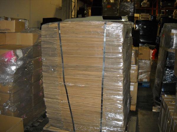 Unassembled boxes
