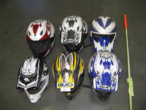 6 ATV Helmets