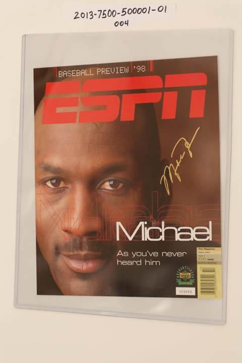 Signed Jordan
