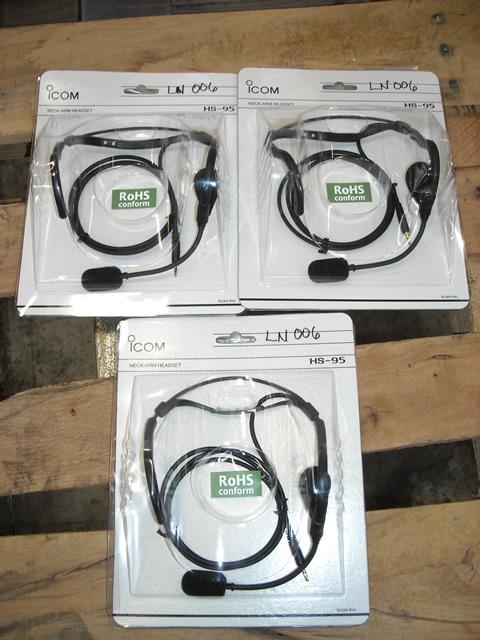 icom headsets