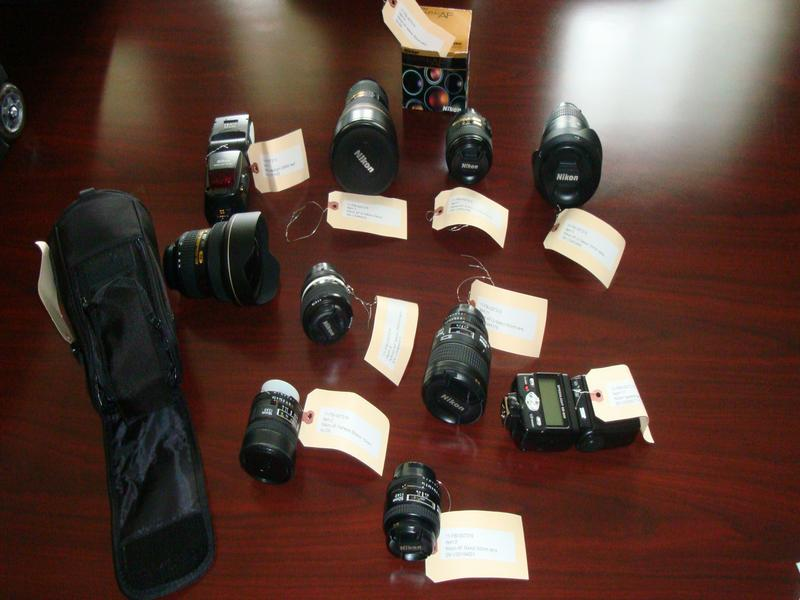 Nikon Photographic Equipment