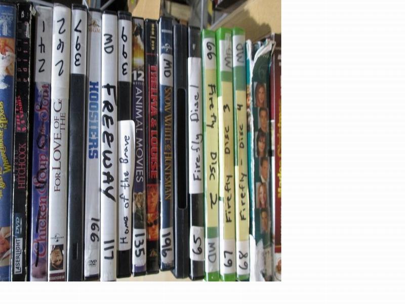 8_16_17 DVD VHS Movies