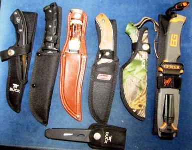 8_23_17 Hunting Knives