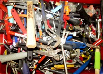 9_7_17 Assorted Hand Tools